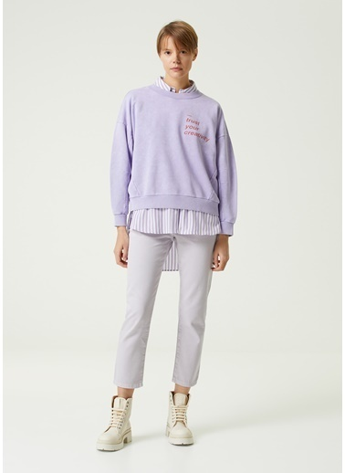 Beymen Club Sweatshirt Lila